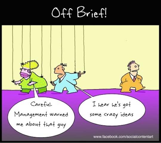 Is your co-worker actually a puppet? The answer may surprise you – cartoon