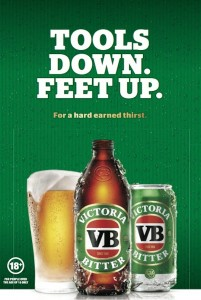 example of VB OOH creative