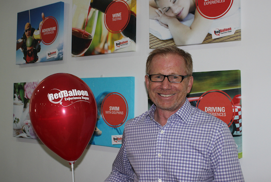 Nick Baker joins RedBalloon as CEO