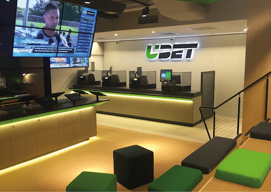 Ubet overhauls physical betting environment following rebrand