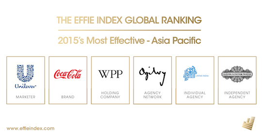 Baidu, Lifebuoy and Idea Cellular join Coca-Cola and McDonald's as APAC most effective brands of 2015