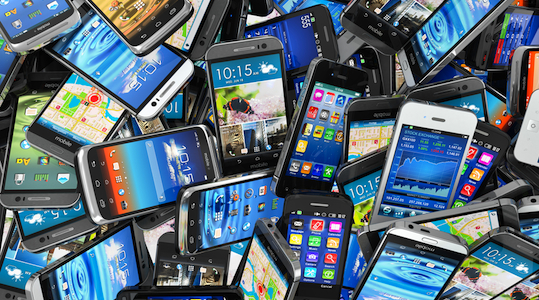 Mobile data downloads in Australia almost doubled in the year to June 2014