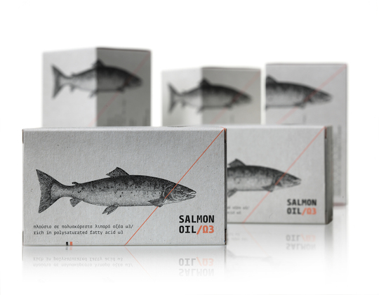 GAP Salmon Oil by Mousegraphics (Greece) packaging