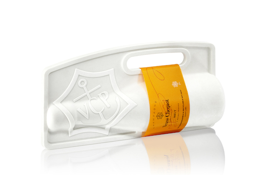 PaperFoam Naturally Clicquot II sustainable packaging