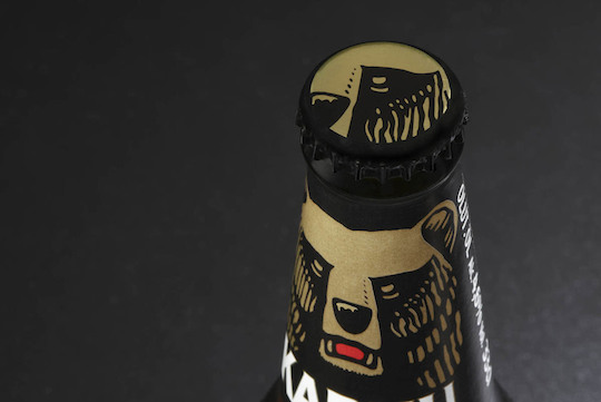 Karhu (Finland) by Design Bridge (UK) beer packaging