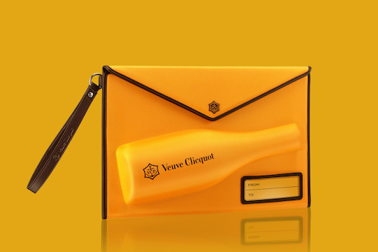 Clicquot Mail Collection by 5.5 Designstudio (France) champagne packaging