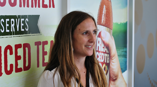 Operations of innovation with Schweppes' Ellie Vince