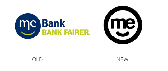 Me bank old and new 2015 logo