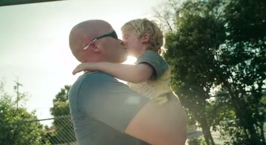 Dove challenges men to show they care in a new take on its social change mission