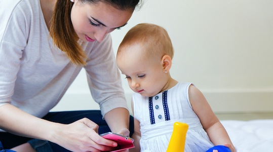 Australian mothers' smartphone habits revealed