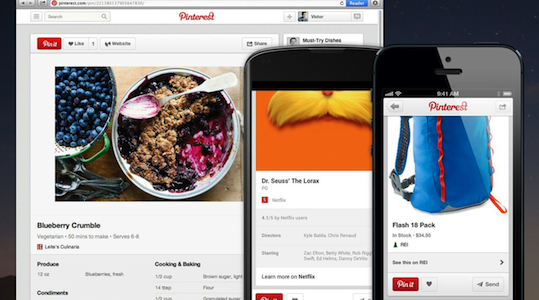 Product design and design thinking at Pinterest