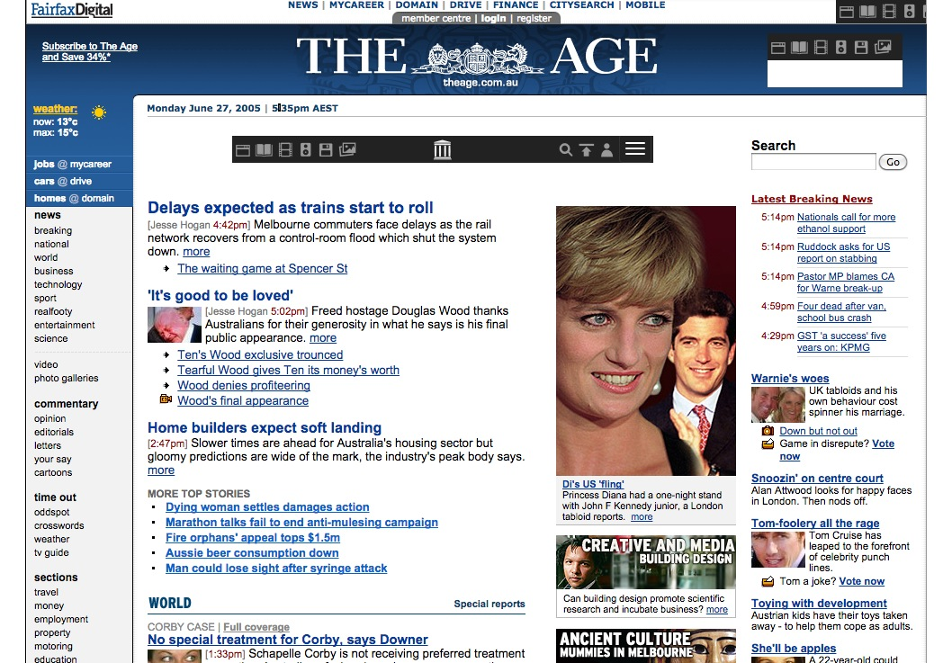 The Age, 27 June 2005