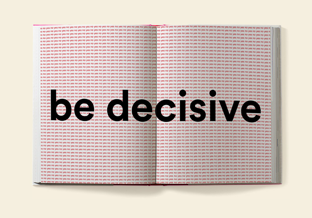 Design Your Life Vince Frost be decisive