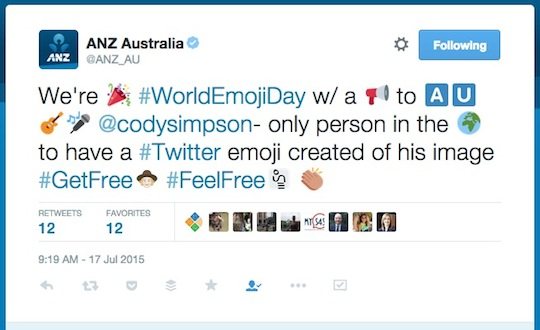 1 ANZ World Emoji Day worldemojiday tweet 540w