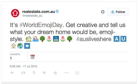 3 realestate com au World Emoji Day worldemojiday tweet 540w