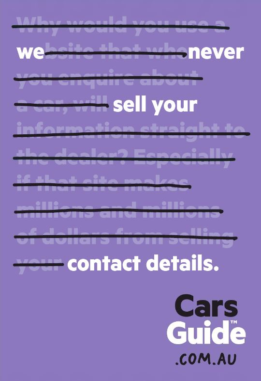 carsguide print ad