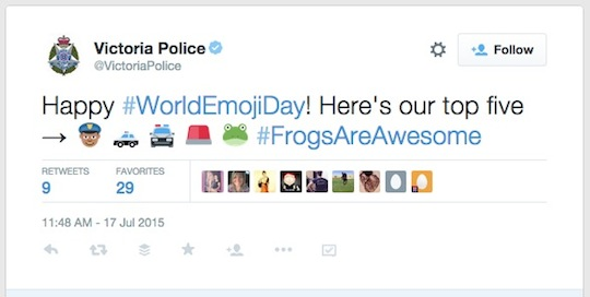 4 Victoria Police World Emoji Day worldemojiday tweet 540w