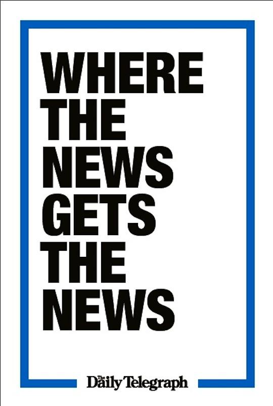 Daily Telegraph Brand Campaign 1