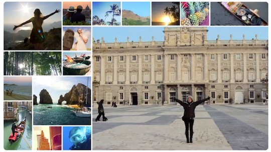 Helloworld Instagram 'relay' campaign targets global travellers