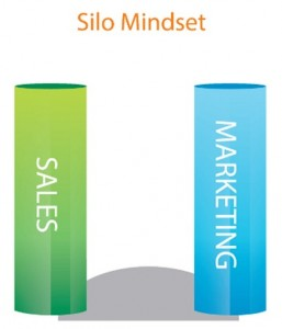 1 silo mindset sales marketing