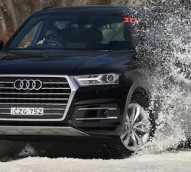 The Audi snow drive experience: playing catch-up in the luxury car race