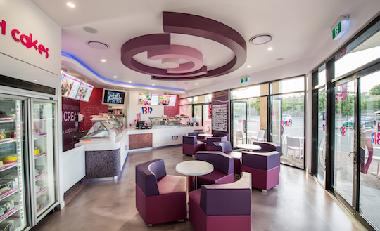Baskin-Robbins store design 540