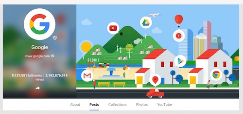 Google Google plus new 2015 branding