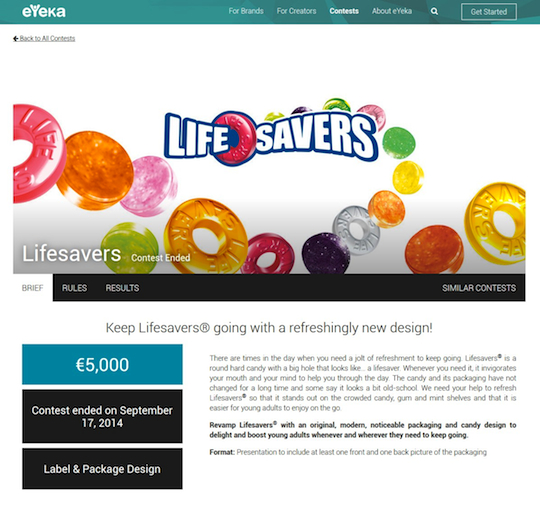 Lifesavers eYeka Teaser Page 540