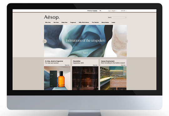 3 aesop-website