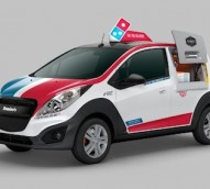 Domino's launches automotive campaign as its fleet spreads across America