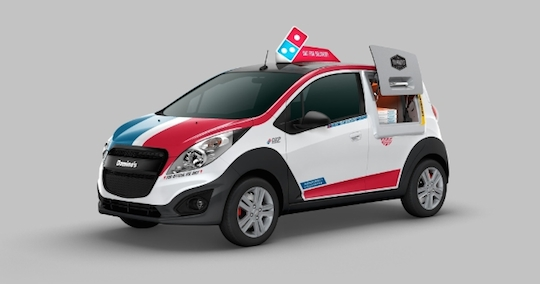 Domino's spent three years building the perfect pizza-delivery vehicle