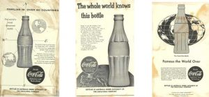 the world knows this bottle coke ad