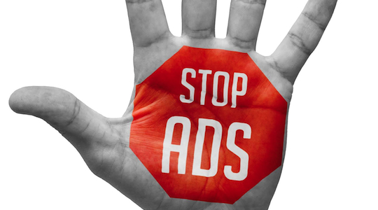A silent protest finds its voice with ad blocking