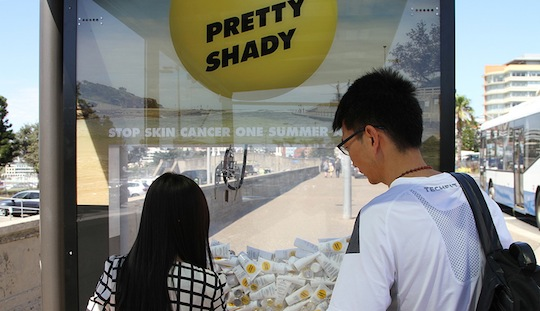 Shady outdoor campaign to protect Sydney-siders this summer