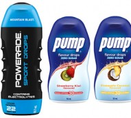 Coca-Cola enters the water enhancer market with Powerade Sports Drops and Pump Drops