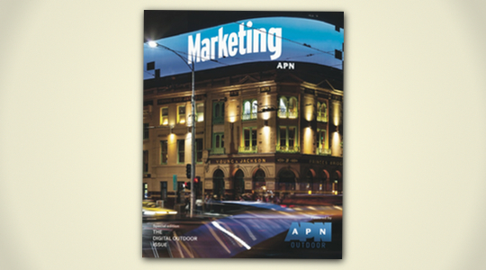 The Digital Outdoor Issue: a special edition of Marketing Mag