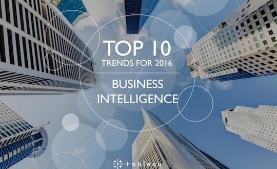 10 trends in business intelligence for 2016