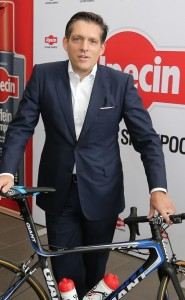 Alpecin CEO Eduard Doerrenburg