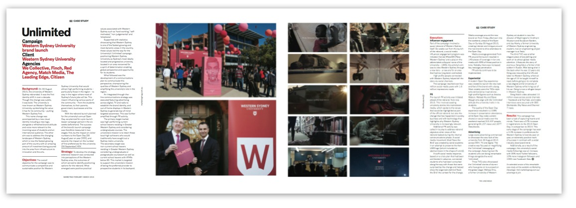 The Lead Issue 4 WSU rebrand case study