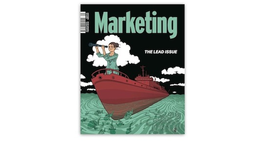 Look inside: 'The Lead Issue' of Marketing Magazine