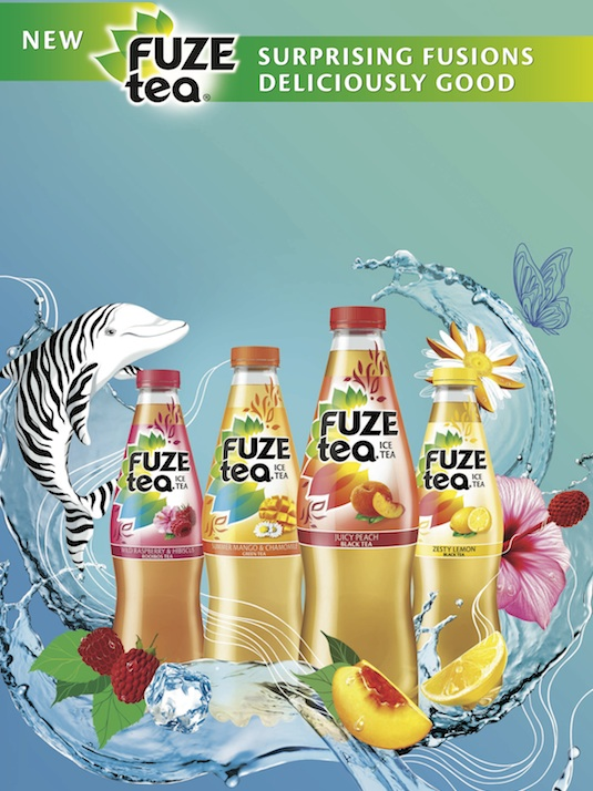 Coca-Cola launches ice tea brand with multi-million dollar campaign