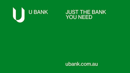 Rebrand positions UBank as the utilitarian choice