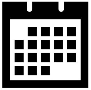 Calendar icon featured events large