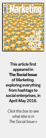 Marketing issue badge The Social issue