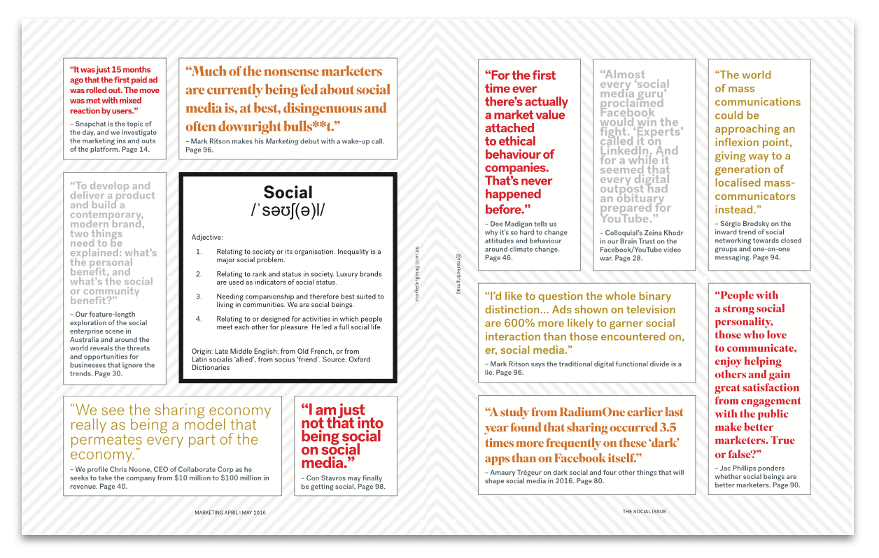 The Social Issue p12-13