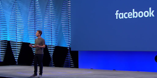 Soaring ambition on show at Facebook's F8 2016