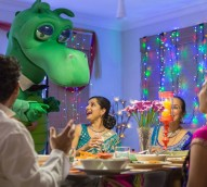 Inside St George's Diwali campaign that saw Happy the Dragon's first ever selfie