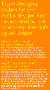 sa health immunisation brochure