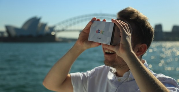 eBay and Myer develop world's first virtual reality department store
