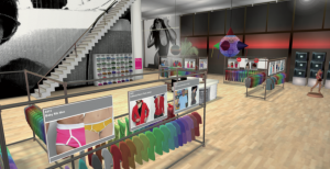 second life american apparel